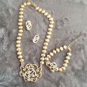 Necklace,  Bracelet and Earring Set